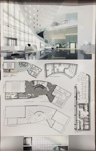 Проектирование интерьера общественного здания