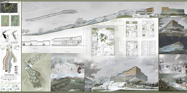 Конкурс дипломных работ по архитектуре и дизайну